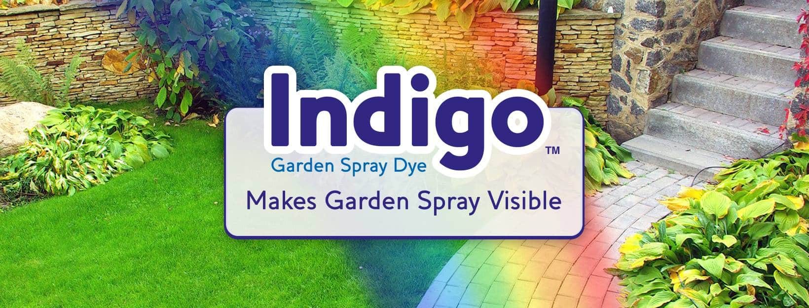 Dyeing to see where you have treated with a Garden Sprayer
